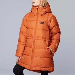 NIKE Reversible Down Fill Puffer Jacket